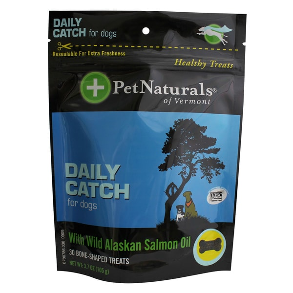 PetNaturals Daily Catch with Wild Alaskan Salmon Oil for Dogs