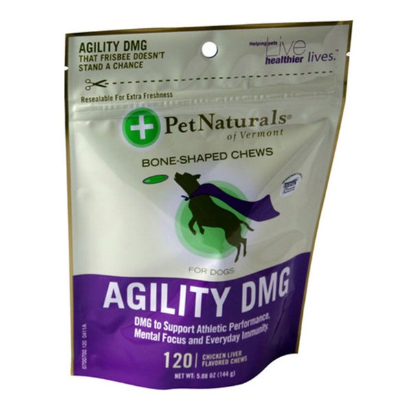 PetNaturals Agility DMG Bone-Shaped Chew for Dogs