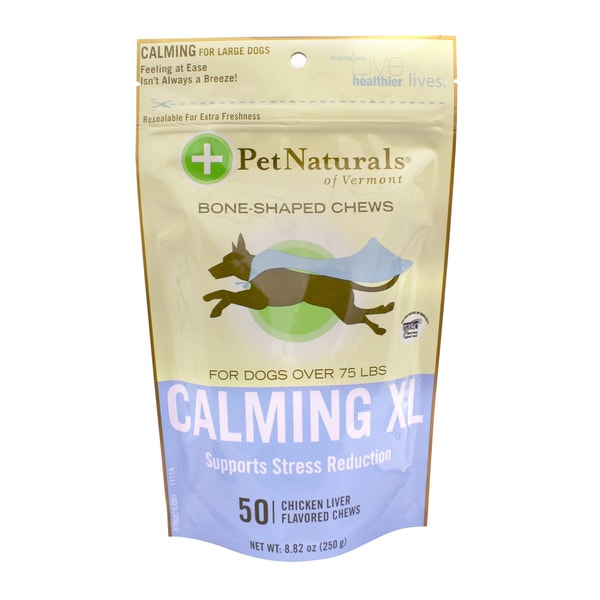 PetNaturals Calming XL Bone-Shaped Chews for Dogs