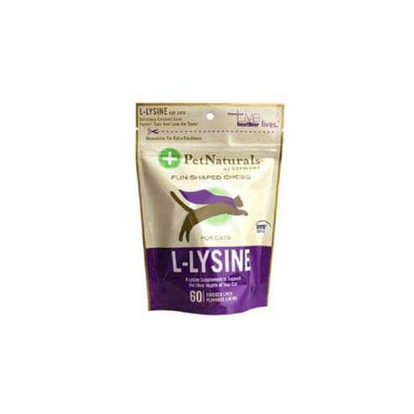 PetNaturals L-Lysine Chews for Cats
