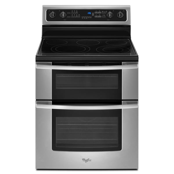 Whirlpool GGE39OLXS Self-cleaning Freestanding Electric Range