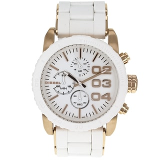 Diesel Men's Classic White-Dial Chronograph Watch