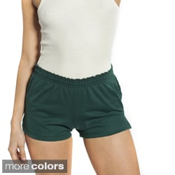 American Apparel Women's Thick Knit P.E. Shorts