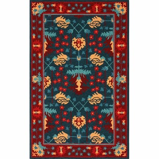 nuLOOM Handmade William Morris Multi Rug