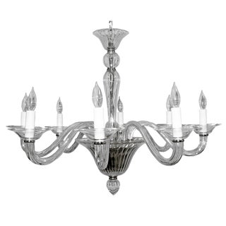 Kaylee Chrome Eight-Light Chandelier
