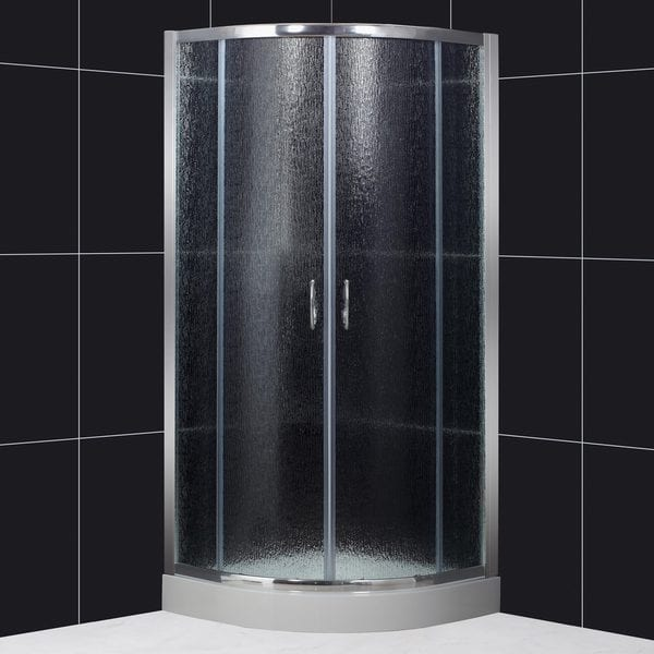 DreamLine Sector 35x35x73 Rain Glass Shower Enclosure
