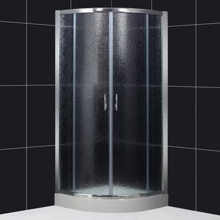 DreamLine Sector 35x35x73 Rain Glass Shower Enclosure
