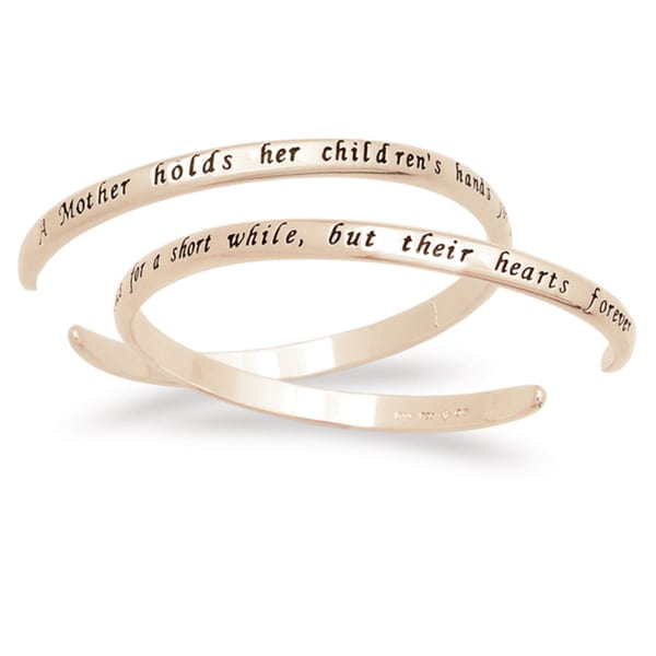 Mother Sentiment Bracelet Hands Sentiment Bracelet