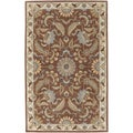 Hand tufted Lowry New Zealand Wool Rug (2' x 3')
