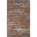 Hand-tufted Talbragar Sepia Abstract Wool Rug