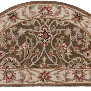 Hand-tufted Scottsville Forest Wool Rug (2' x 4' Hearth)