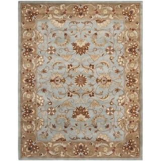 Safavieh Handmade Heritag Blue/ Brown Wool Rug