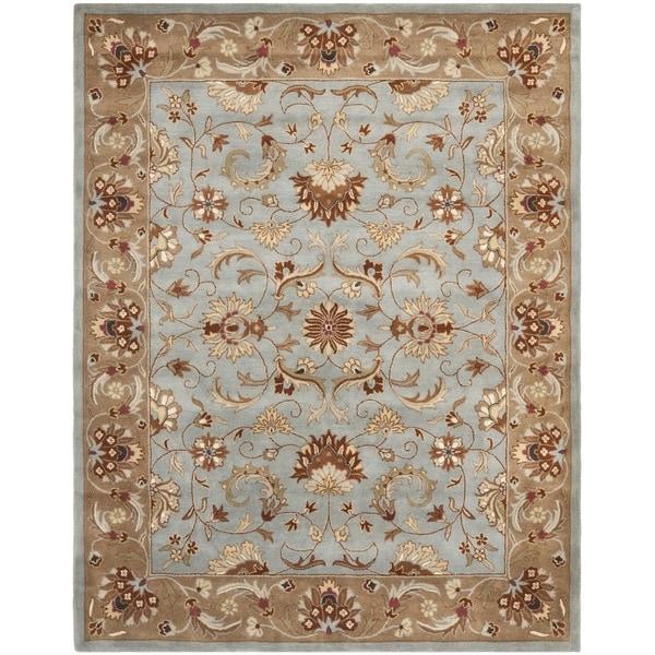 Safavieh Handmade Heritag Blue/ Beige Wool Area Rug
