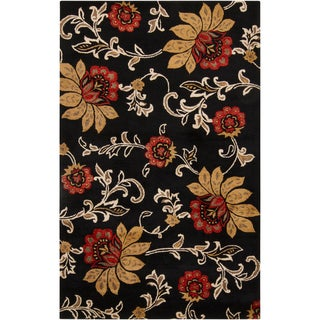 Hand-tufted Carrabelle New Zealand Wool Rug