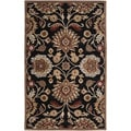 Hand-Tufted Silverton Floral Wool Rug