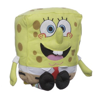 Nickelodeon SB38350-SC-MU Sponge Bob Squarepants Plush Kid&#39;s Backpack