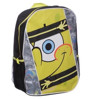 Nickelodeon SB20885-TG-BK SpongeBob 16-inch Skateboard Kid's Backpack