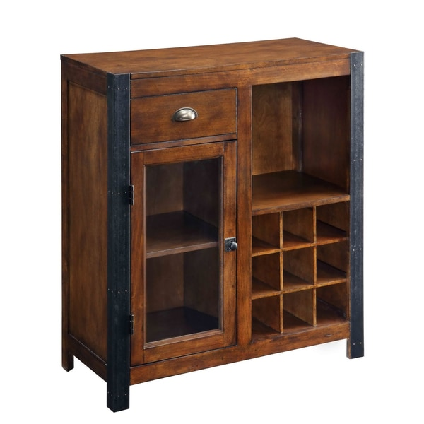 Creek Classics Den Hill One Drawer One Door Wine Cabinet