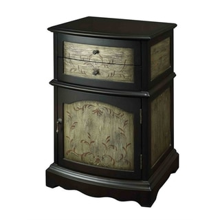 Creek Classics Dare Merlot Two-Drawer One-Door Cabinet