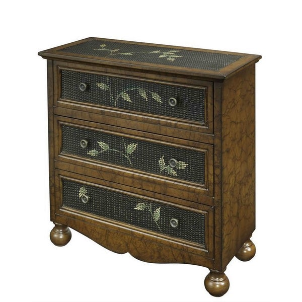 Creek Classics Rattan Three-Drawer Chest