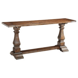 Creek Classics Rustic Brown Console Table