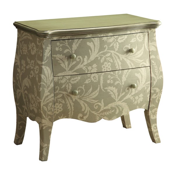 Creek Classics Floral Colony Green 2-drawer Chest