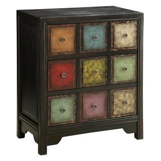 Creek Classics Conde Multicolor 3-drawer Chest