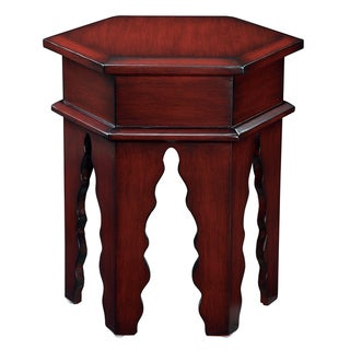 Creek Classics Moroccan Coakley Red Stool