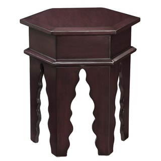 Creek Classics Moroccan Coaldan Purple Stool