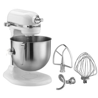 KitchenAid KSM7581WH White 7-quart Bowl-Lift Stand Mixer