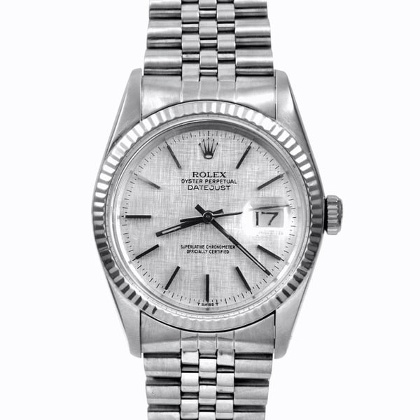 Pre-Owned Limited-Edition Rolex Men's Stainless-Steel Datejust Watch