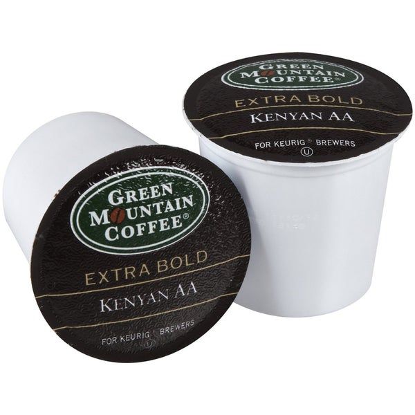 Green Mountain Coffee Extra Bold Kenyan AA K-Cups for Keurig Brewers (Case of 96)