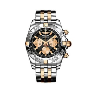 Breitling Men's Two-tone 'Chronomat' Chronograph Watch