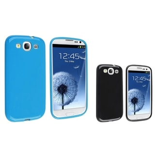 BasAcc Blue TPU Case/ Black TPU Case for Samsung Galaxy S III/ S3