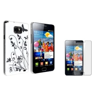 BasAcc Butterfly Case/ LCD Protector for Samsung Galaxy S II/ S2 i9100