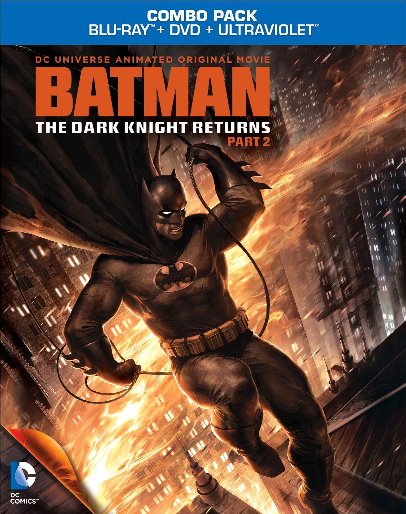 Batman: The Dark Knight Returns Part Two (Blu-ray Disc)