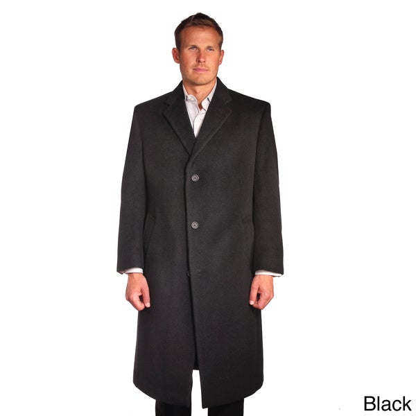 Jean Paul Germain Men's Wool/Cashmere Blend Sander Coat