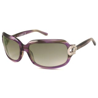 Just Cavalli Women's JC272S Rectangular Sunglasses