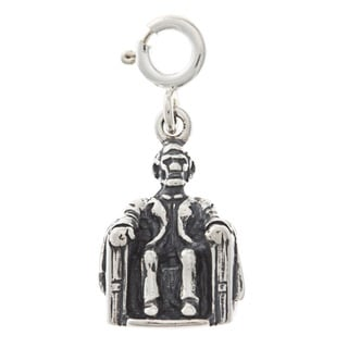 Sterling Silver Lincoln Memorial Charm