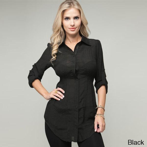 Stanzino Women's Button Down Tunic
