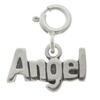 Sterling Silver Angel Charm