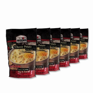 Crown Canyon Cheesy Potato Soup Mix Pouch (Pack of 6)