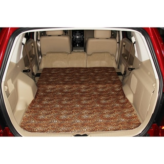 Large Ultra Thin Leopard Design Cargo Liner/Seat Protector
