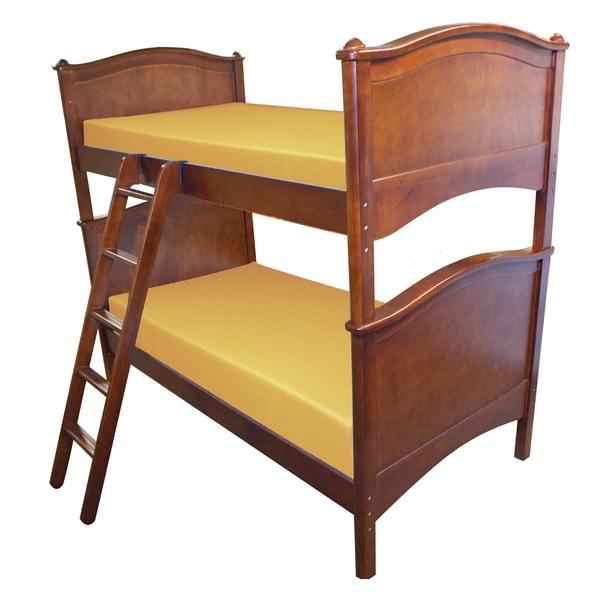 Select Luxury Reversible 6-inch Yellow Bunk Bed Twin-size Foam Mattress