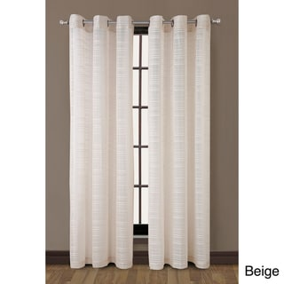 Clinton Grommet Top Stripe 84-inch Curtain Panel