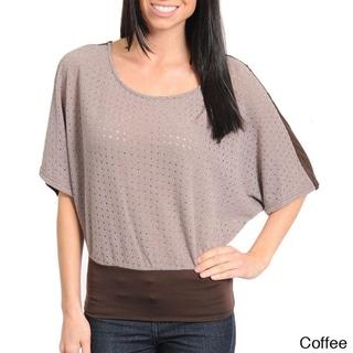 Stanzino Women's Dolman Sleeve Top