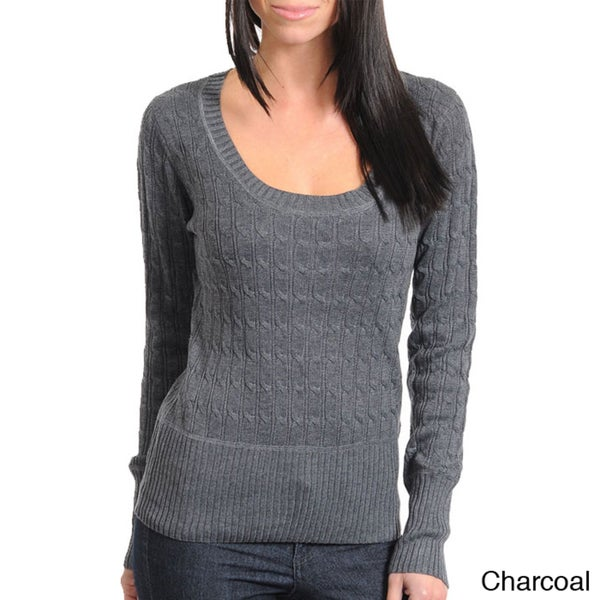 Stanzino Women's Long Sleeve Knit Sweater