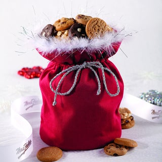 Mrs. Fields Bite-sized Cookie Santa Sack