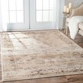 nuLOOM Oriental Vintage Viscose Persian Natural Area Rug
