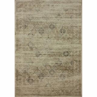 nuLOOM Vintage Overdyed Natural Faux Silk Rug